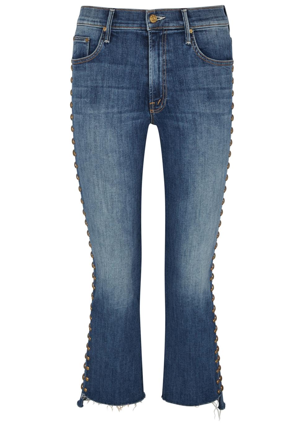 The Insider studded slim-leg jeans