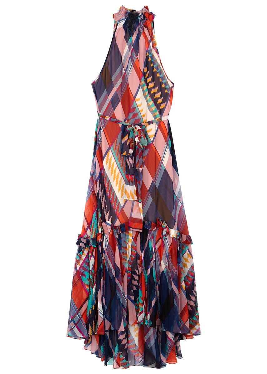 99625975c313b4 Selena printed silk crepe de chine dress Selena printed silk crepe de chine  dress. Diane von Furstenberg