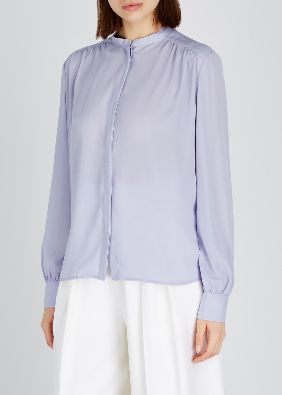 Lilac crepe blouse - Filippa K