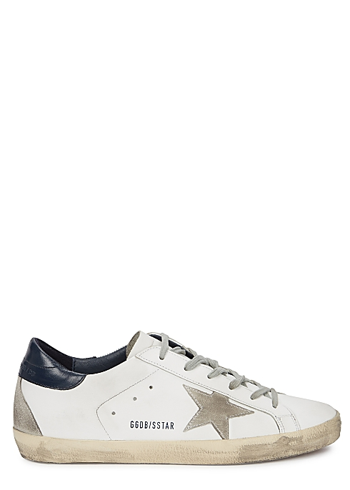 77d53553e79a Golden Goose Deluxe Brand Superstar white leather sneakers - Harvey ...