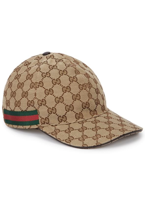 GG Supreme monogrammed cap. New Season. Gucci 44df5361f97