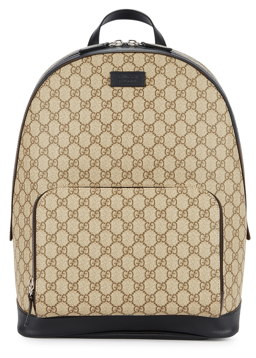 d9fa094aaa15 GG Supreme monogrammed backpack GG Supreme monogrammed backpack. Gucci