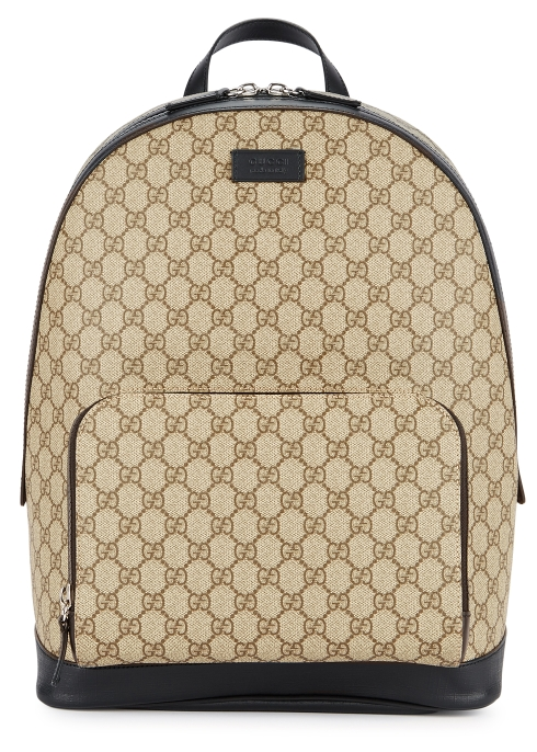 3a5424f0eb0 Gucci GG Supreme monogrammed backpack - Harvey Nichols