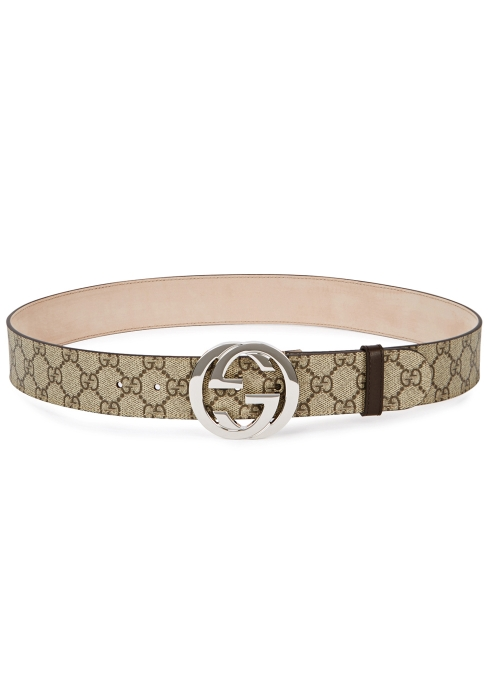 2c0d03c3ac7 Gucci GG Supreme monogrammed belt - Harvey Nichols