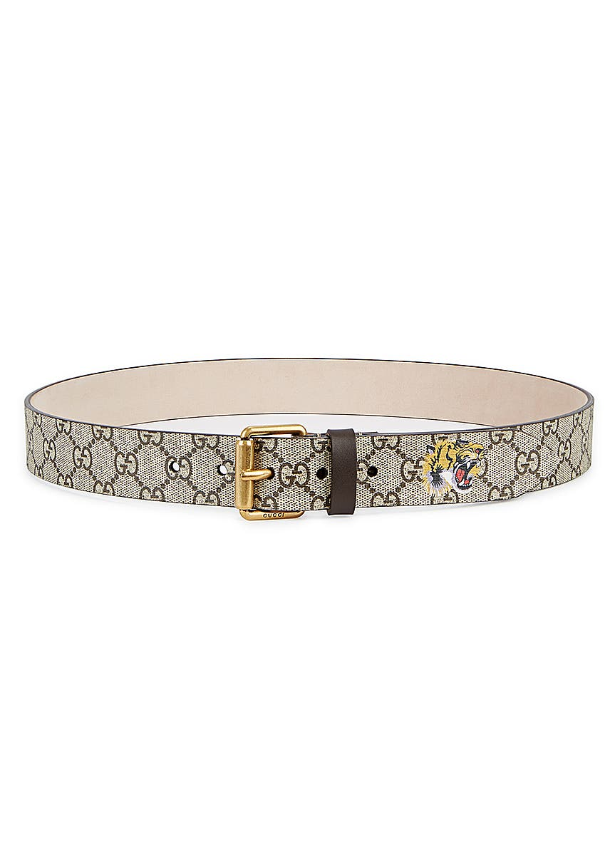 7df3c9843 GG Supreme monogrammed belt GG Supreme monogrammed belt. Gucci
