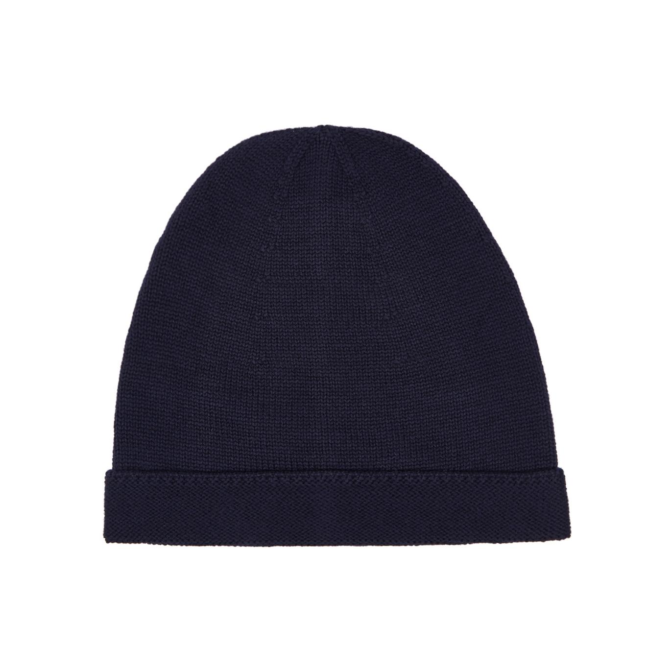 Gucci Navy fine-knit wool beanie - Harvey Nichols 89d18af852b