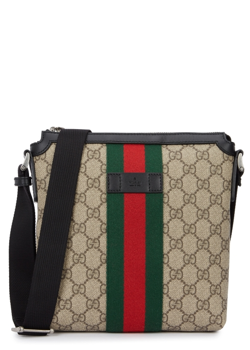 0f94b197837 Gucci Web GG Supreme canvas messenger bag - Harvey Nichols