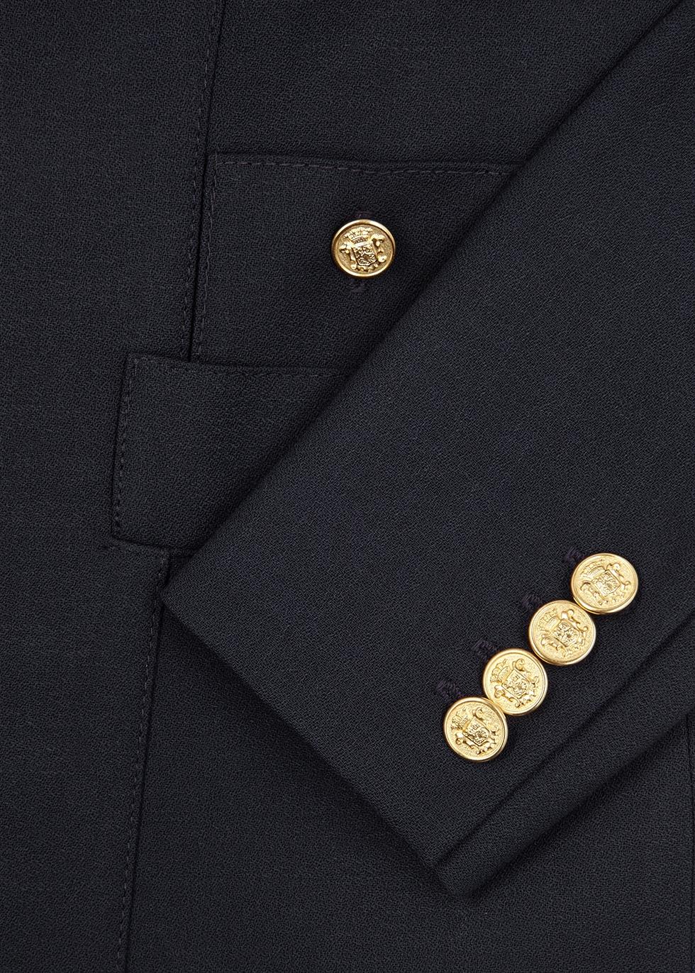 Duchess navy wool blazer - Smythe