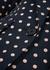 Polka-dot cotton-blend blazer - Smythe