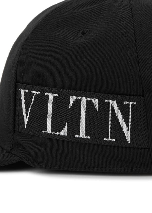 VLTN black canvas cap VLTN black canvas cap 5c95c2aa9f3