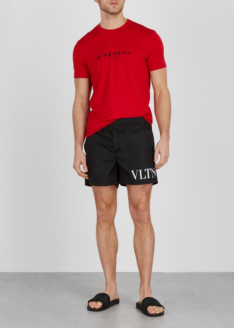 038900621f Valentino VLTN camouflage-print swim shorts - Harvey Nichols