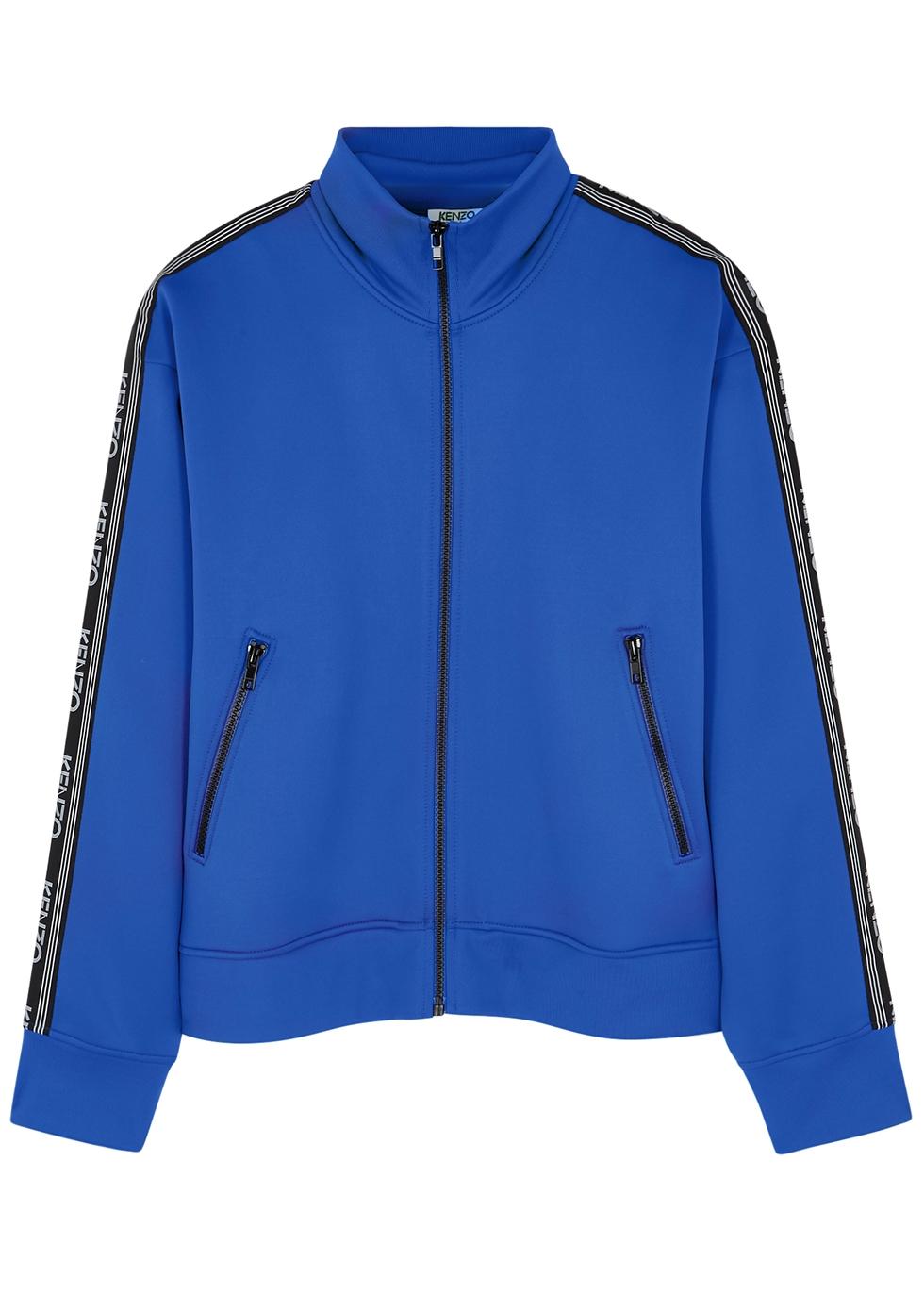 Blue logo jersey jacket - Kenzo