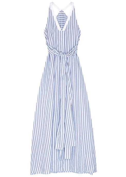 Rosetta Getty Striped cotton maxi dress - Harvey Nichols 16cdc492f