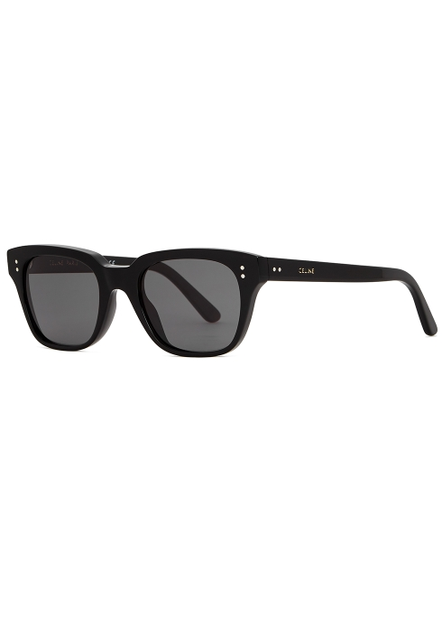 b9284e3e8b Celine Black wayfarer-style sunglasses - Harvey Nichols