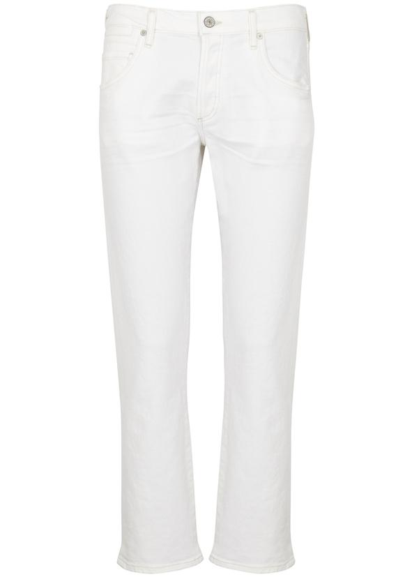f14455c56c5 Emerson white slim-leg jeans ...