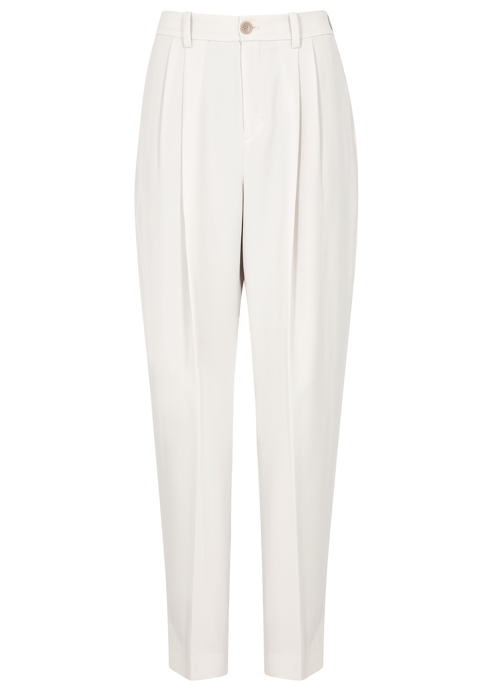 Off-white wide-leg trousers - Vince