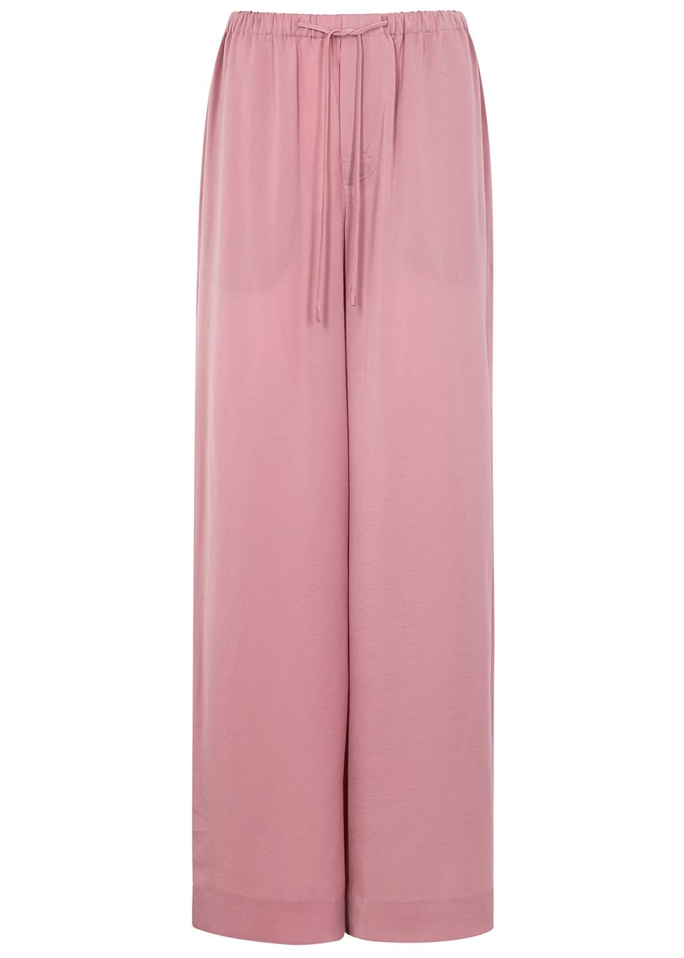 997627eeb6b087 Vince Rose wide-leg satin trousers - Harvey Nichols
