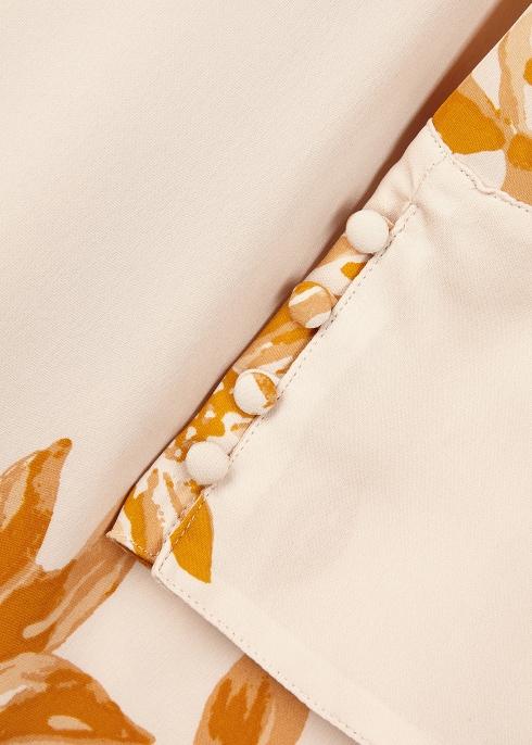 45fffd6256652b Joie Galvin printed silk chiffon top - Harvey Nichols