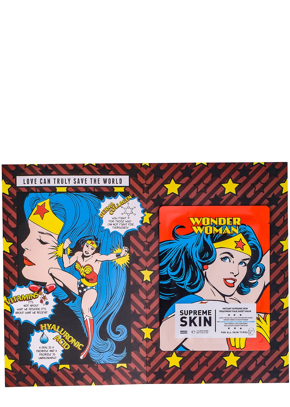Wonder Woman Instant Supreme Sheet Mask - WARNER BROS