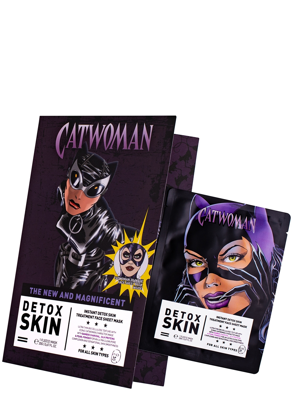 Catwoman Detox Sheet Mask - WARNER BROS