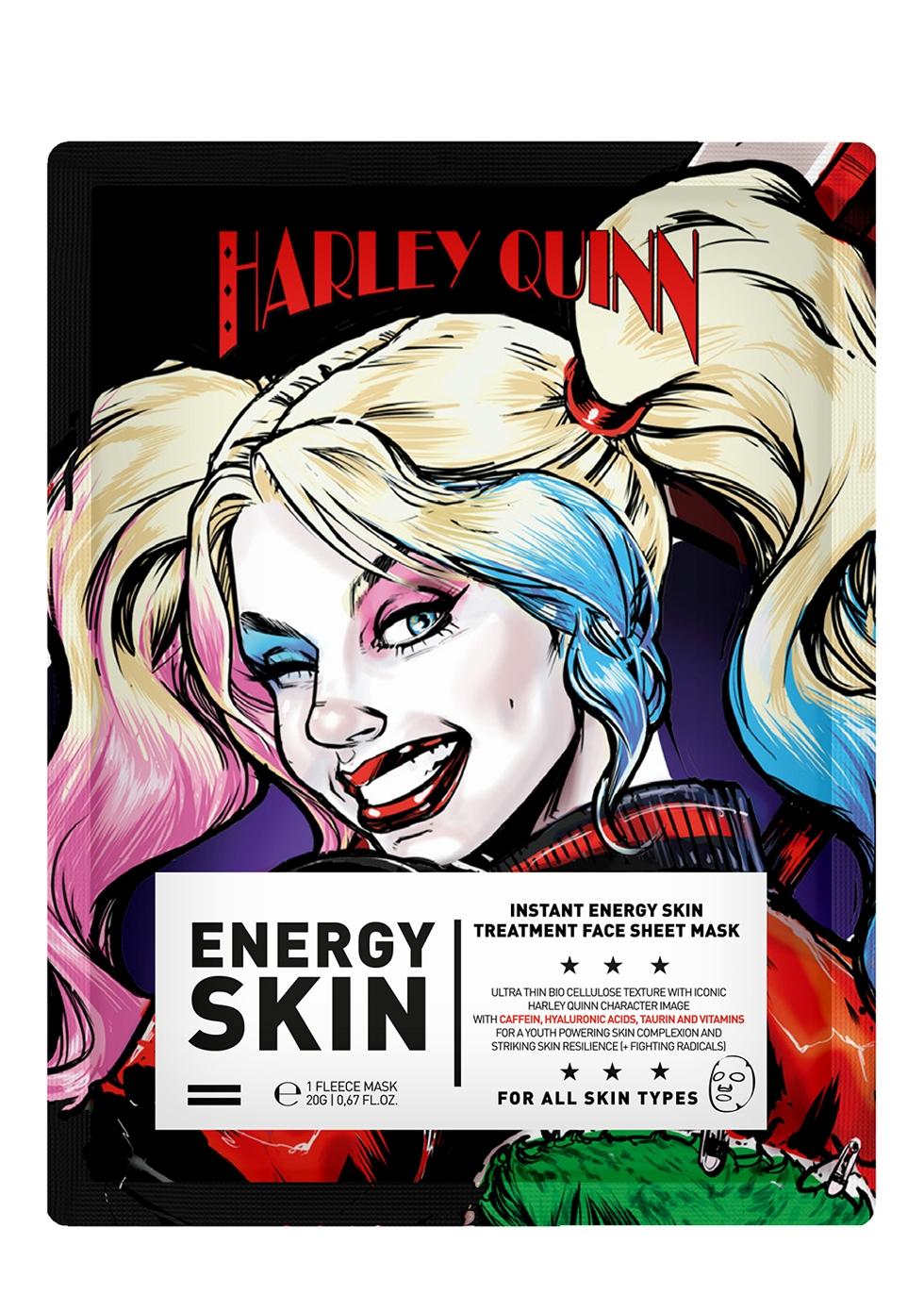 Harley Quinn Instant Energy Sheet Mask - WARNER BROS