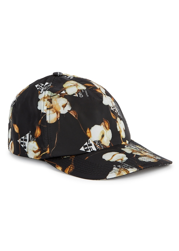 Black printed nylon cap ... 3142a47e72ec