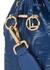 Mon Tresor blue leather bucket bag - Fendi