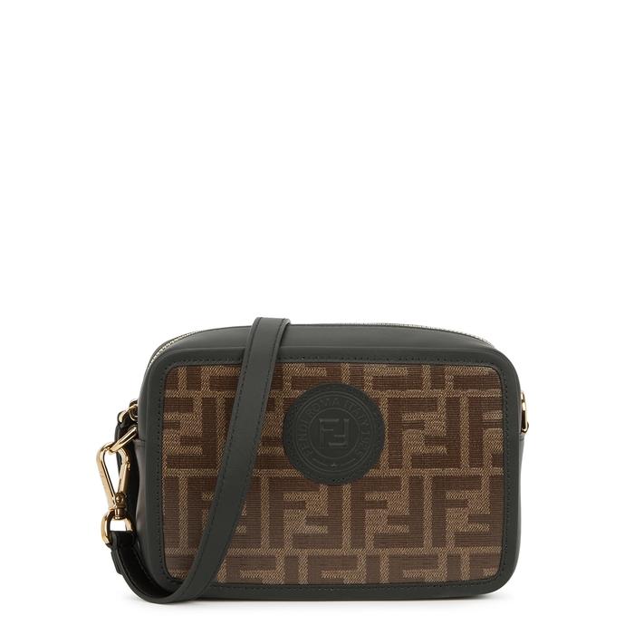 Fendi Mini Camera Case Black Leather Shoulder Bag  3e2d7c43bce0f