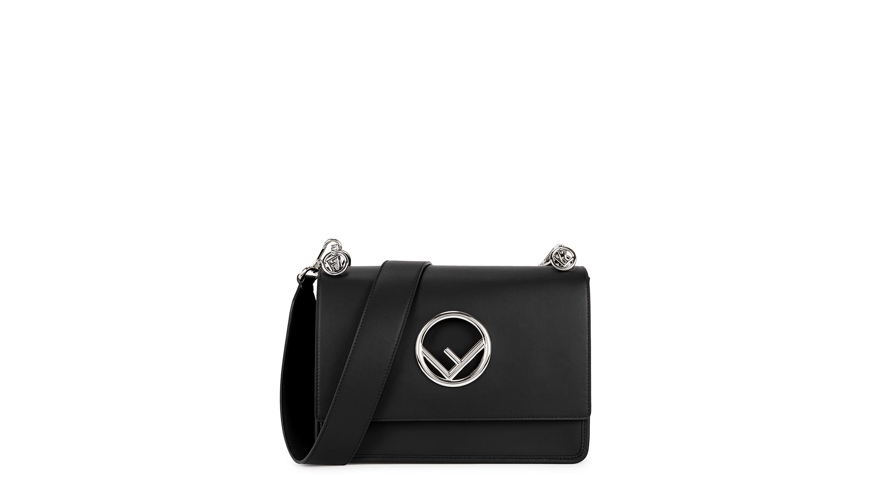 049336e4db Fendi Kan I F medium leather shoulder bag - Harvey Nichols