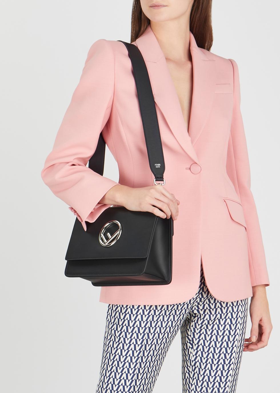 a7eb7036f095 Fendi Kan I F medium leather shoulder bag - Harvey Nichols