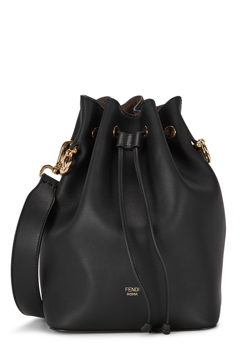 c494c056925c Fendi Mon Tresor black leather bucket bag - Harvey Nichols