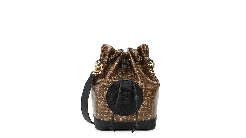 a48f2ee597d5 Fendi Mon Tresor medium monogrammed bucket bag - Harvey Nichols