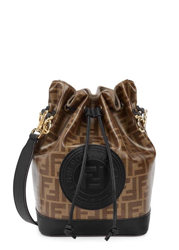 Mon Tresor medium monogrammed bucket bag ... a599eecb67b73