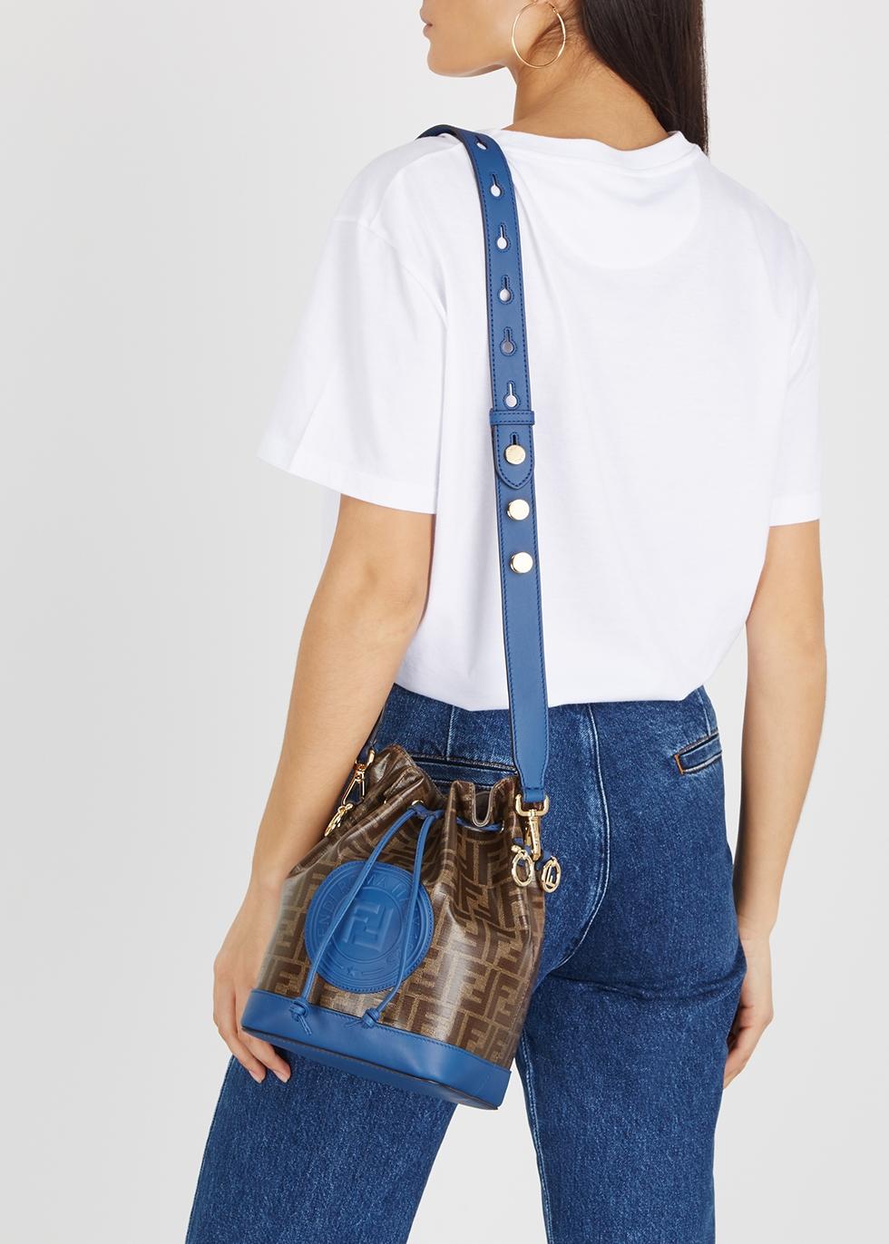 c0f61445fcb9 Fendi Mon Tresor medium monogrammed bucket bag - Harvey Nichols