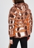 Berlin rose gold quilted shell jacket - IENKI IENKI