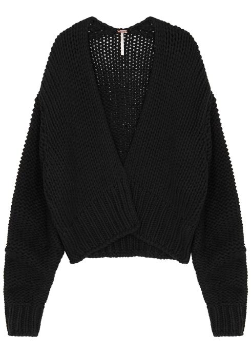 8b2da8fc58 Free People Glow For It cotton-blend cardigan - Harvey Nichols