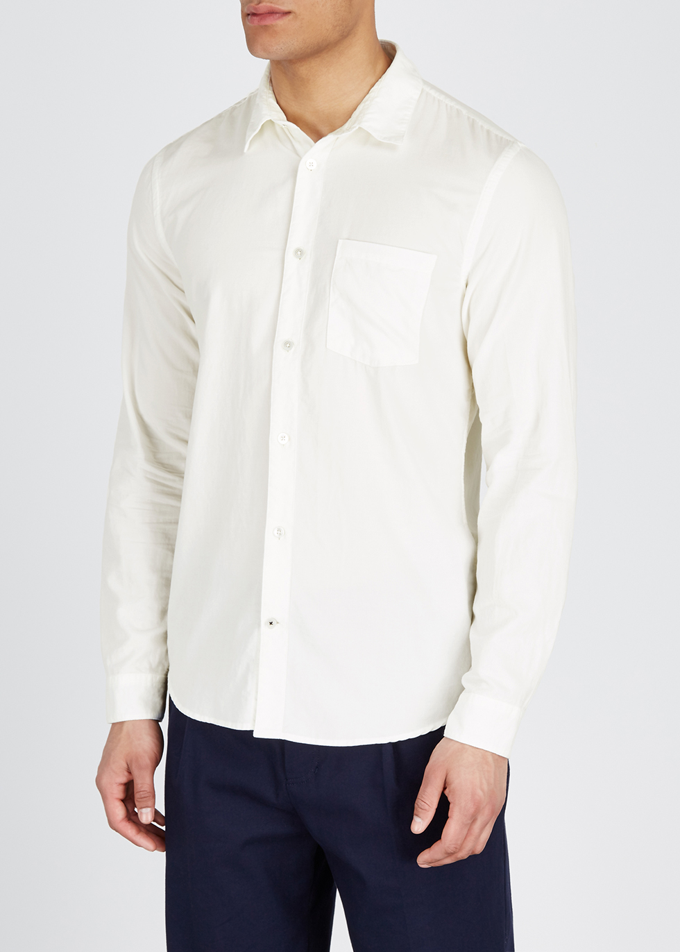 Leon off-white corduroy shirt - NN07
