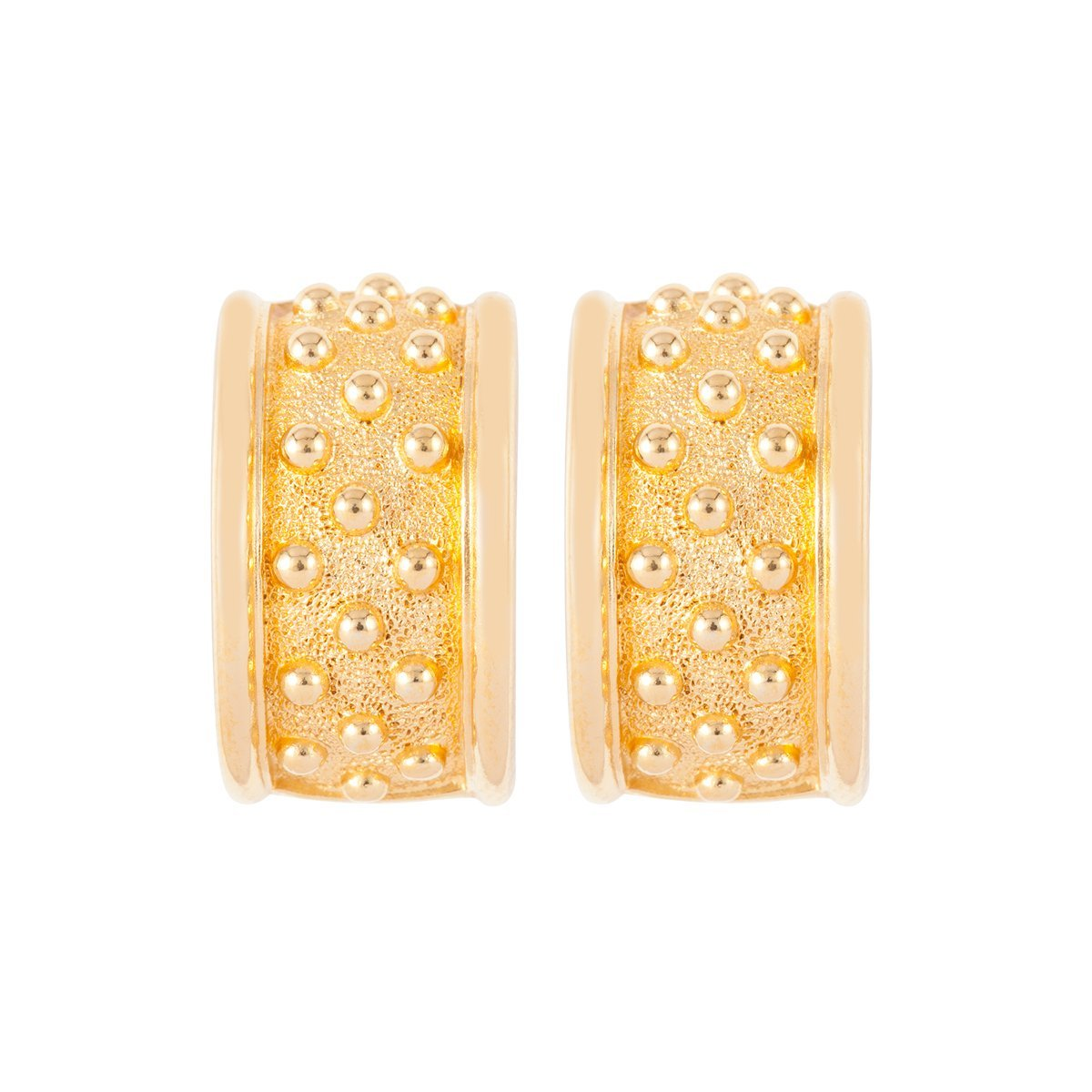 1980S Vintage Christian Dior Statement Clip-On Earrings