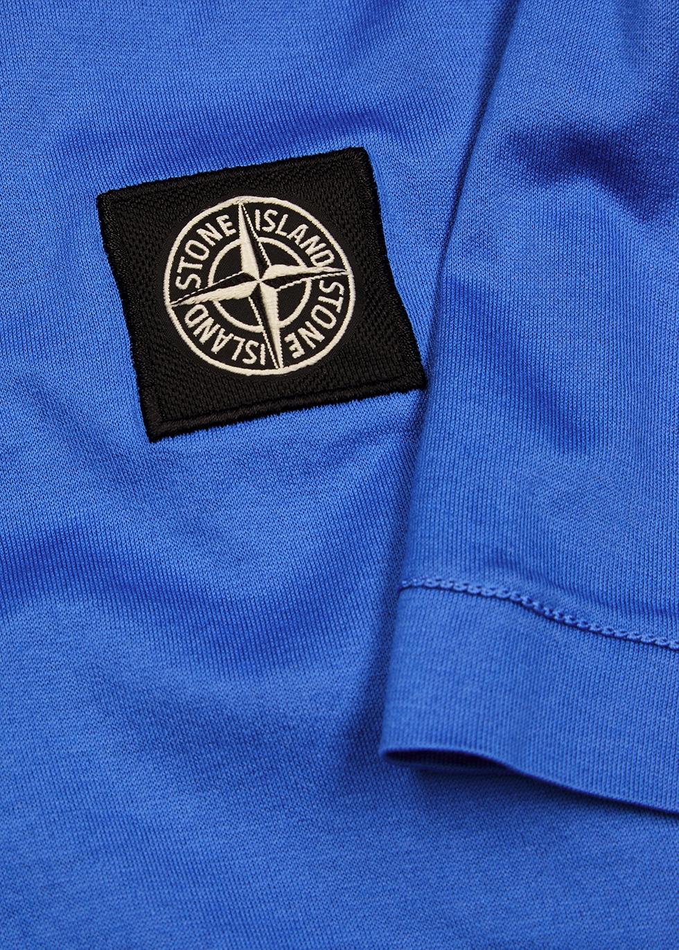 Blue cotton T-shirt - Stone Island