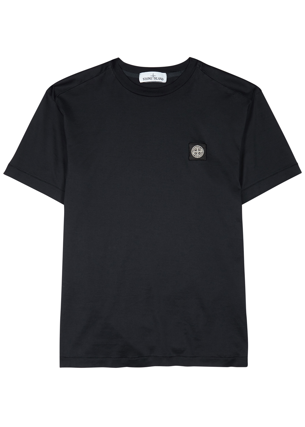 Midnight blue cotton T-shirt - Stone Island