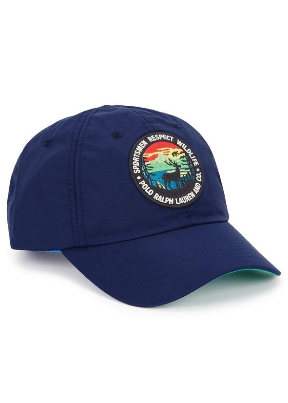 07ded0083eb Navy logo nylon cap Navy logo nylon cap. New Season. Polo Ralph Lauren