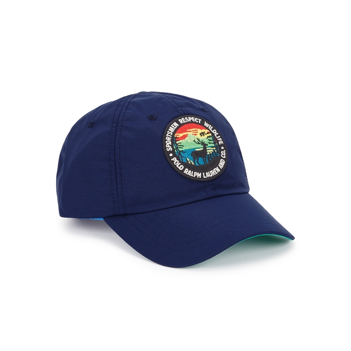 Polo Ralph Lauren Navy Logo Nylon Cap