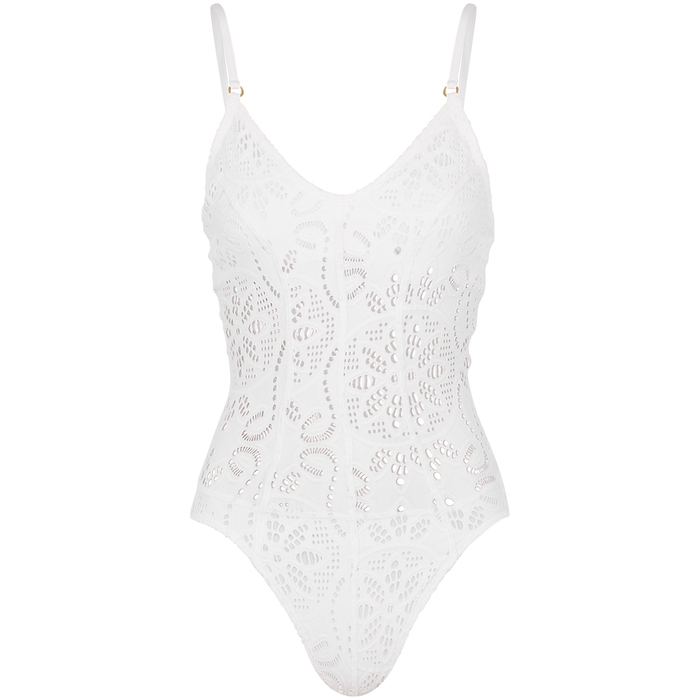 Pilyq WATER LILY CATHERINE EYELET SWIMSUIT