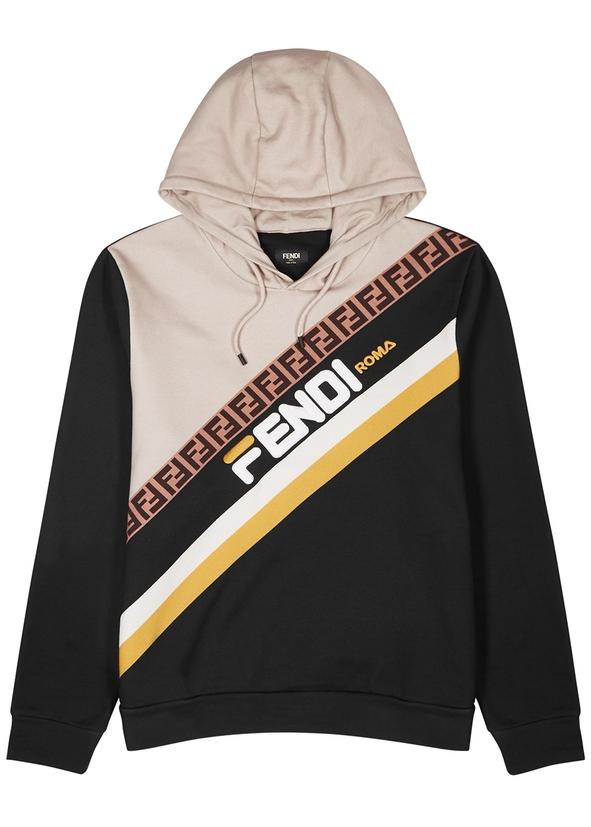 Black logo cotton sweatshirt ... 1464b1ad0c
