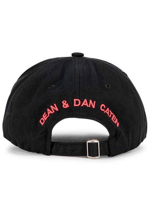 86fd519e8b5 Black logo embroidered cotton cap Black logo embroidered cotton cap. New  Season. DSQUARED2