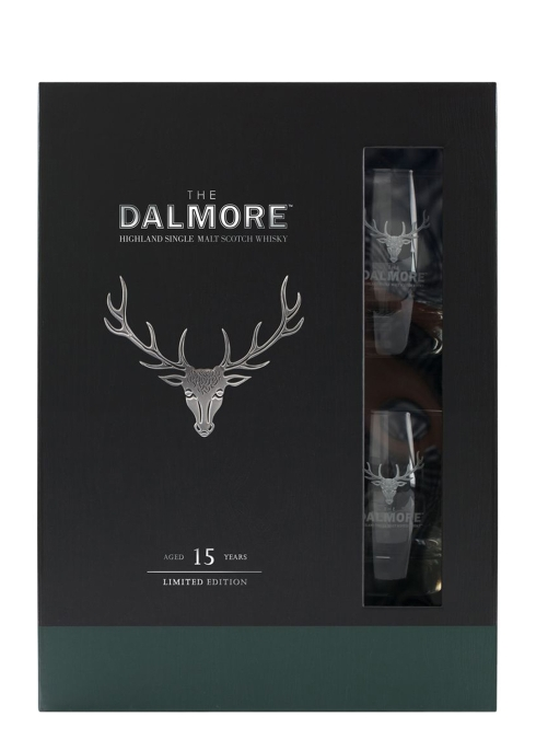 15 Year Old Single Malt Scotch Whisky Limited Edition Gift Pack - The Dalmore Distillery