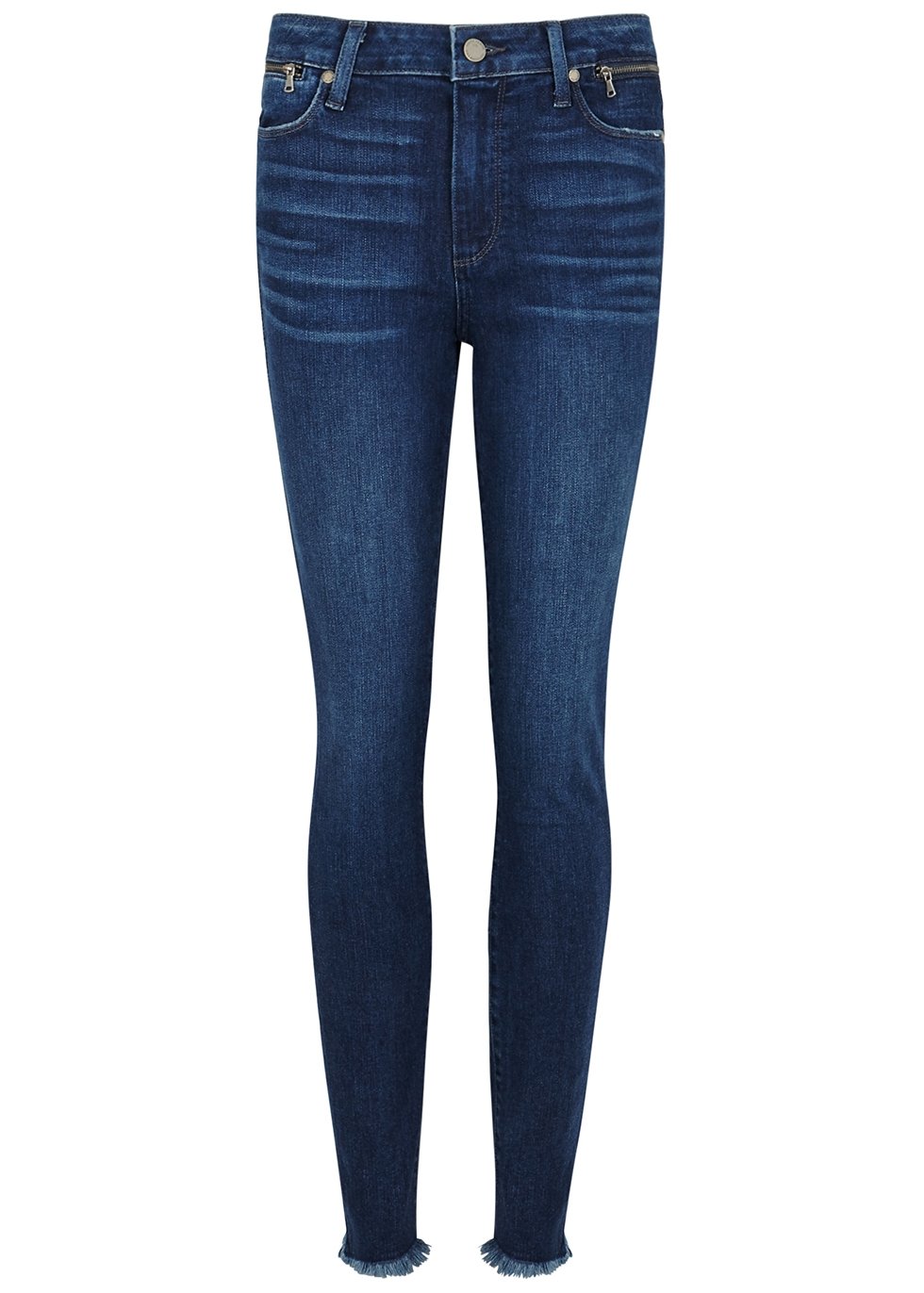 Hoxton blue skinny jeans