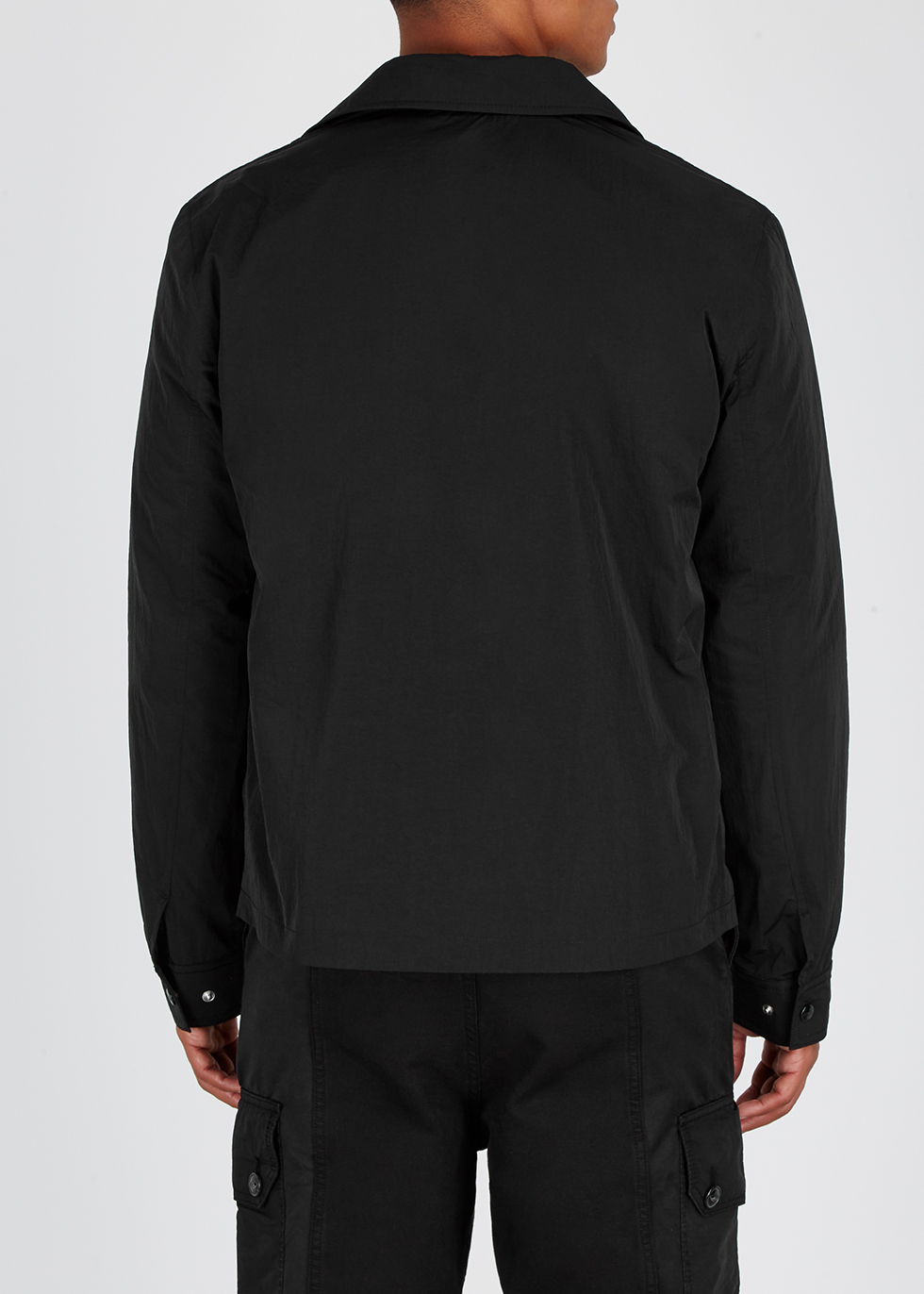 Black shell jacket - AMI