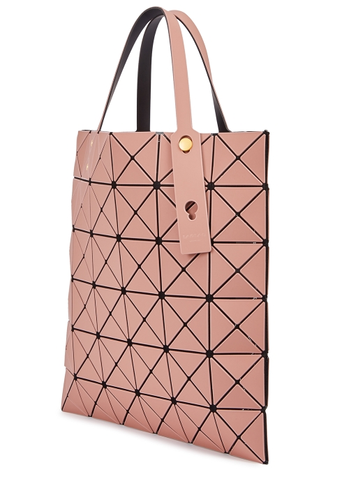BAO BAO ISSEY MIYAKE Lucent Frost pink tote - Harvey Nichols 1eed30c9c6161