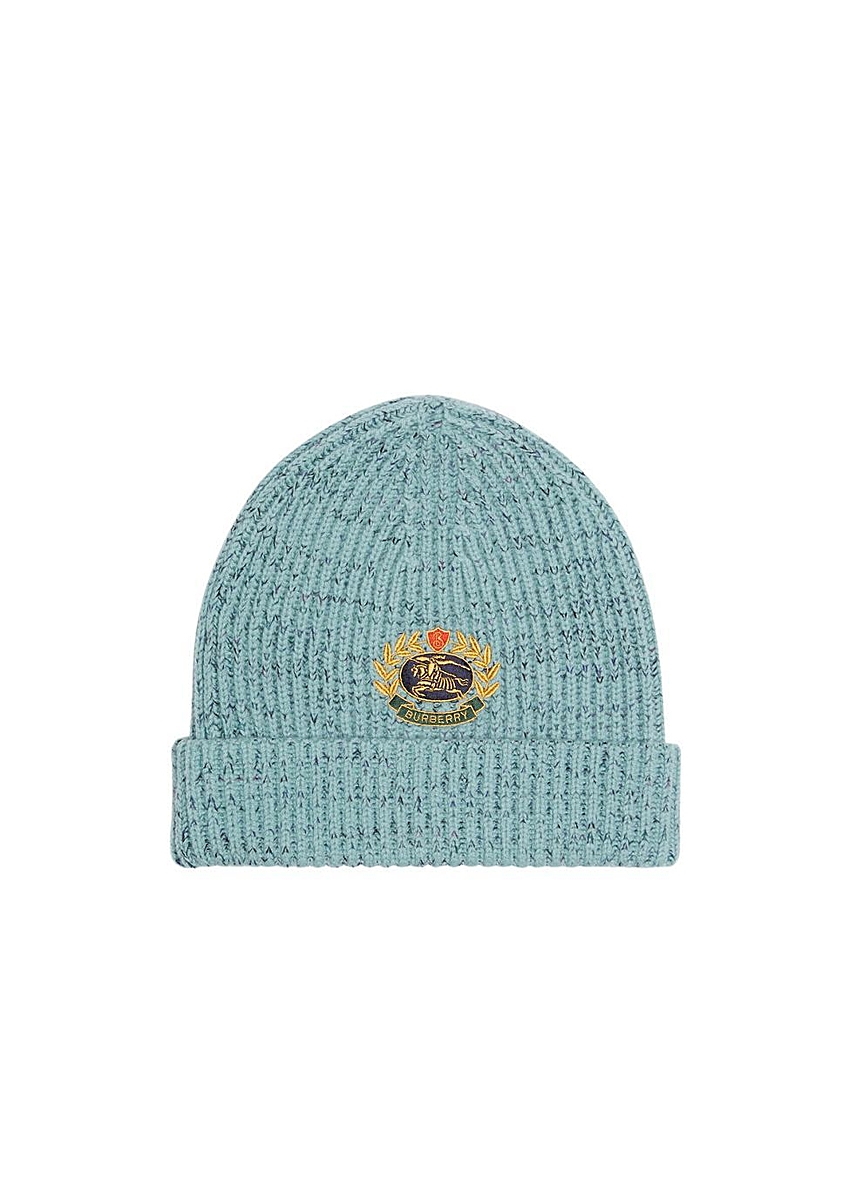 e15a51e1 Embroidered archive logo wool blend beanie ...